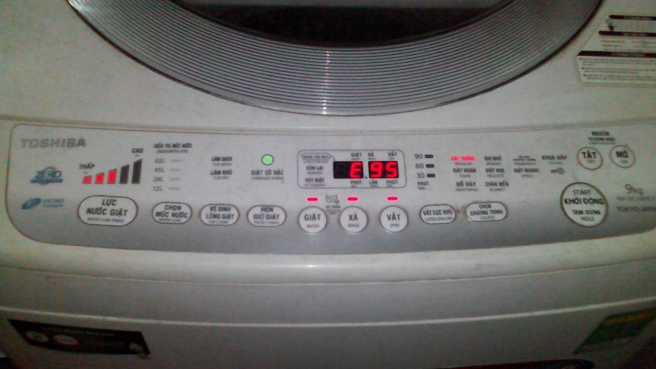 Tổng hợp mã lỗi của máy giặt toshiba và cách khắc phục